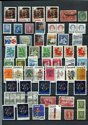 Canada Stockpage Full Of Stamps #W782