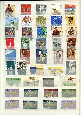 Ireland Stockpage Full Of Stamps #W765