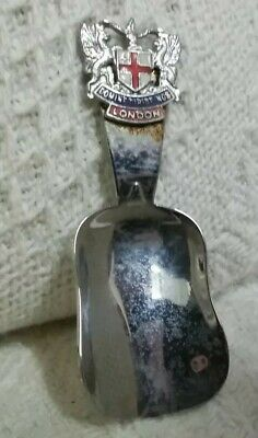 Vintage London Souvenir Tea Caddy Spoon