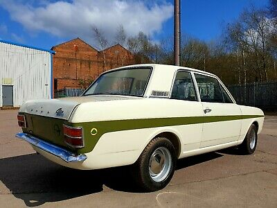 Ford Cortina Mk2 Lotus Series 1 Full Restoration Soon Completed By Lotus Outlaws