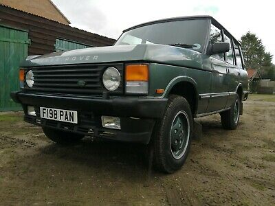 Range Rover 'Classic' Vogue Efi 3.5 V8, 5 speed manual in Cypress Green