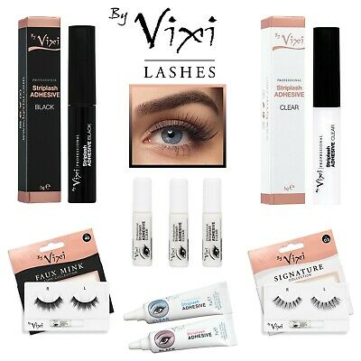 By Vixi Strong Lash Glue 💖 Clear / Black 💖1g 5g 7g Eyelash Adhesive with Brush
