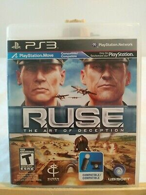 Playstation 3 PS3 -Ruse The Art of Deception - Complete - Very Good Condition