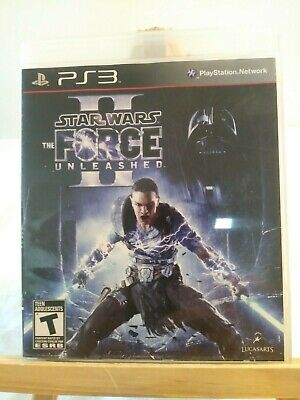 Playstation 3 PS3 -Star Wars The Force Unleashed II - Complete VG Condition