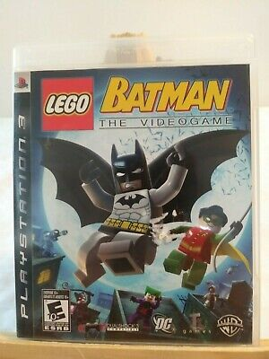 Playstation 3 PS3 -Lego Batman - Complete - Very Good Condition