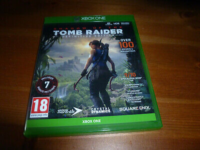 Xbox One Spiel Shadow of the Tomb Raider Definitive Edition