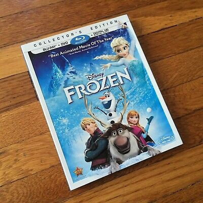 Frozen Blu-ray + DVD 2-Disc Set Collector's Edition - MINT