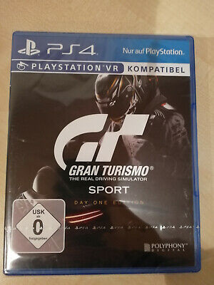 Gran Turismo Sport - Day ONE Edition - PS4 - NEU