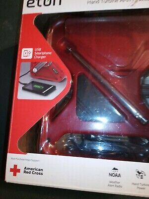 NEW ETON FRX3 Multi powered AM/FM/Weather Alert Digital Radio American Red Cross