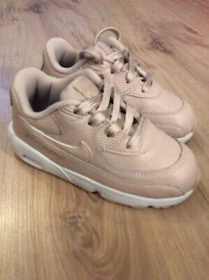 NIKE AIR MAX Baby Pink Girls Trainers. Infant UK Size 7.5