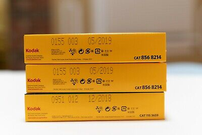 New Kodak Fujifilm 120 4x5 slide and print films freezer stored free shipping
