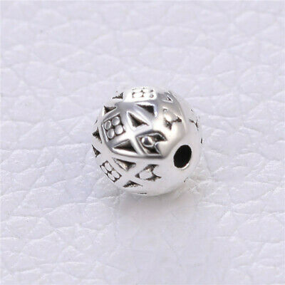 20pcs Tibetan silver spacer beads patterned round fancy 7mm diameter