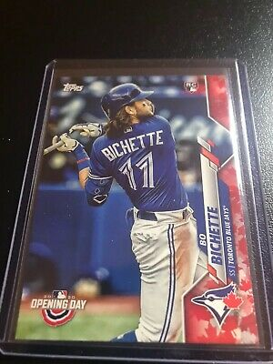 2020 Topps Opening Day, Bo Bichette Rookie Card RC, Canada Exclusive #173