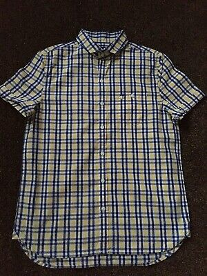 Boys check shirt age 11 years by Next BNWOT