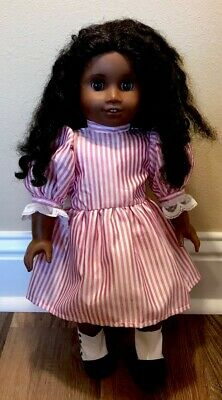 "American Girl Historical 18"" Doll Cecile AA African American Retired"