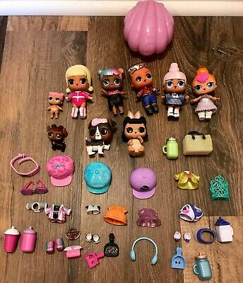 LOL SURPRISE DOLL Lot Mermaid Disco Soldier Boy Pets Accessories