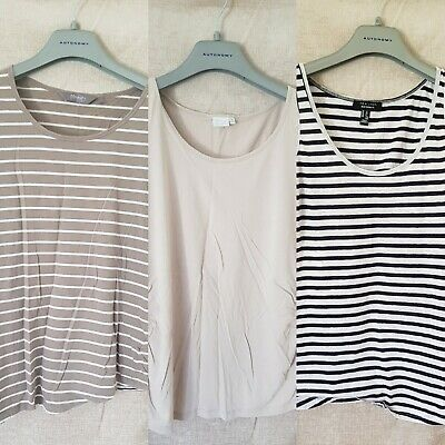 Maternity Top Bundle 12/14 Medium stripe / cream GUC