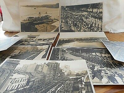Antique photos of Sydney of a large procession probably around 1910-15
