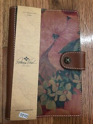 PATRICIA NASH Italian Leather Agenda Book NEW