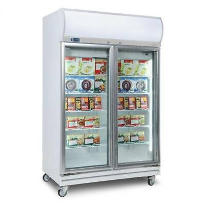 Bromic Freezer Upright Display Flat Glass Door 976L LED UF1000LF