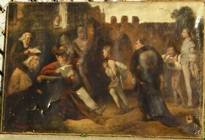 A Day in Court by W. Bonat 1888