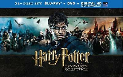 Harry Potter Hogwarts Collection (31 Disc Set Blu-ray + DVD)