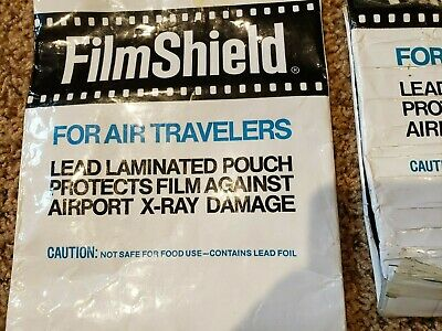1 Full & 1 Half Sima Film Shield Lead Pouch To Protect Film From Xray Damage