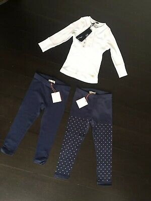 NWT 2 X Girls WITCHERY Leggings and COTTON ON Top Size 3 RRP $66.85