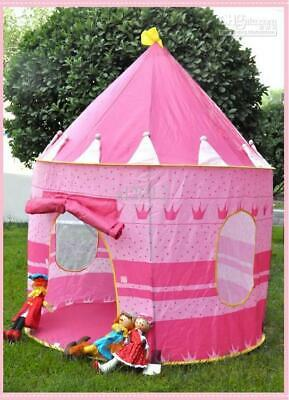 Childrens Kids Baby Pop Up Play Tent Fairy Girls Boys Playhouse Indoor Outdoor