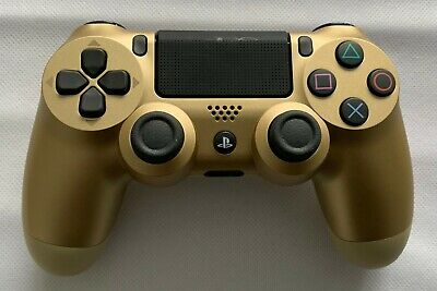 Sony Playstation PS4 Dualshock 4 Wireless Gold Controller