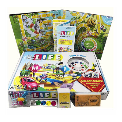 The Game of Life Board Game Children Kids Card Family Party Games Gift 2020