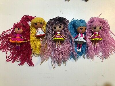 Mini Lalaloopsy Doll with Loopy Hair Yarn bundle