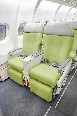 Aeroplane Aircraft Seats, Business Class Airbus A330, Man Cave, Home Cinema NEW!