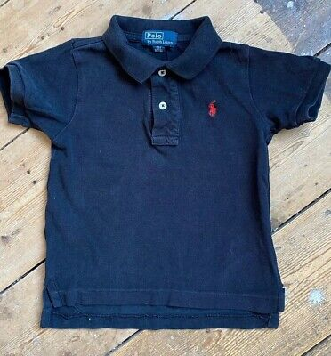 Ralph Lauren Baby Boys Polo Shirt Black 18 Months