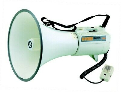 45W Megaphone with Built-in Siren and Whistle