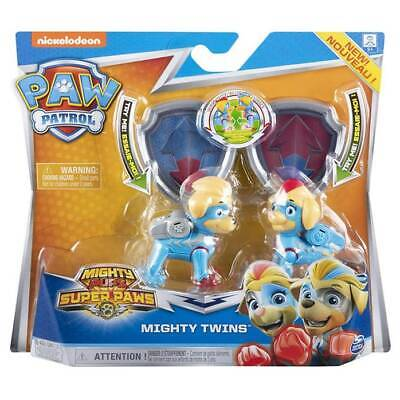 Blister Personaggi Mighty Twins Paw Patrol Mighty Pups Super Paws Spin Master 60