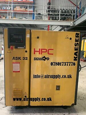 HPC ASK32 Screw Compressor 18.5kW 111cfm 8 bar base model