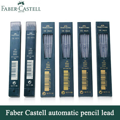 Faber-Castell TK 9071 leads 2mm Clutch Pencil -  pack of 10