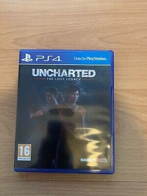 Uncharted: The Lost Legacy (Sony PlayStation 4, 2017) PS4