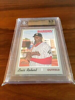 Luis Robert 2019 Topps Heritage Minors⚾⚾⚾BGS 9.5 GEM MINT⚾⚾⚾Chicago White Sox*