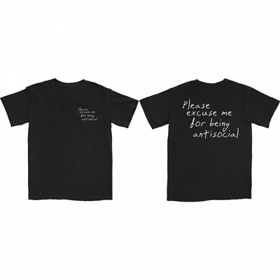 RODDY RICCH PLEASE EXCUSE ME T-SHIRT BLACK S-5XL 2 Sides Reprinted