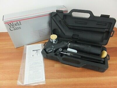 TASCO World Class Zoom Spotting Scope with Long Eye Relief, Tripod & Case