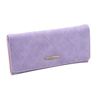 Handbag Card Phone Holder Ladies Long Fold Wallet Hasp Purse Slim Clutch Bag N3