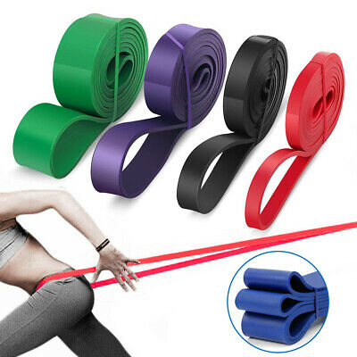 Resistance Bands Power Lifting Exercise Band Fitness Pull Up Band Latex UK NEW