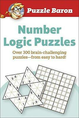 Puzzle Baron Number Logic Puzzle: 400 brain-challenging Puzzles-From Easy to Har