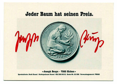 JOSEPH BEUYS pk original hand signed