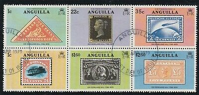 Anguilla 1979 Rowland Hill Centenary Souvenir Sheet Stamps Used