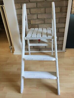Old Wooden Ladder - Ideal Wedding Accessory / Table Plan