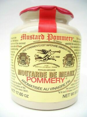 Pommery Moutarde de Meaux French Mustard 500 Grams Delicious! From France