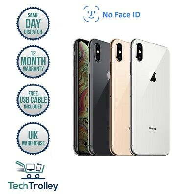 Apple iPhone XS No Face ID 64GB 256GB 512GB UNLOCKED Space Grey Silver Gold